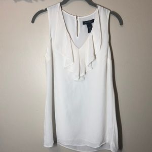 Gently used XXS silk top, White House Black Market